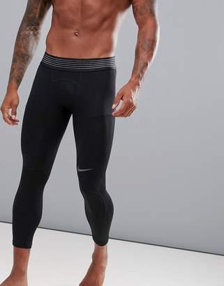 Nike Training Pro Hypercool 3/4 Tights In Black 888297-011