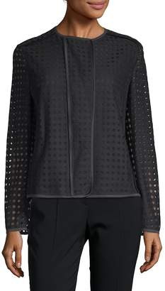Akris Women's Perforated Jacket