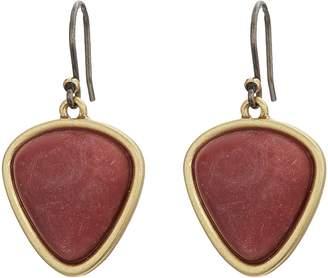Lucky Brand Set Stone Drop Earrings Earring