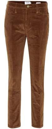 Frame Le High straight-leg corduroy jeans
