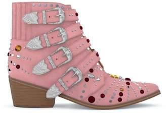 Toga Pulla Elvis crystal boots