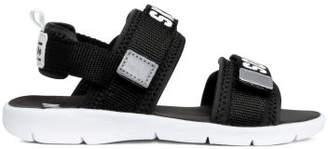 H&M Scuba-look Sandals - Black