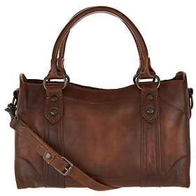 Frye Leather Melissa Satchel Handbag
