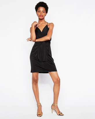 Express Twist Front Mini Dress