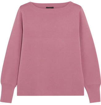 J.Crew Orchard Merino Wool And Cotton-blend Sweater