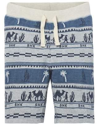 Scotch Shrunk Print Knit Shorts