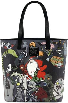 Loungefly X Nightmare Before Christmas Character Print Tote Purse