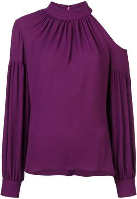 Josie Natori cut out detail blouse