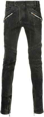 Balmain slim biker jeans