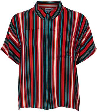 Noisy May Short-Sleeve Button-Down Shirt