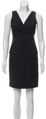 MICHAEL Michael Kors V-Neck Mini Dress