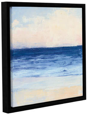 True Blue Rosecliff Heights 'True Blue Ocean I' Framed Painting Print