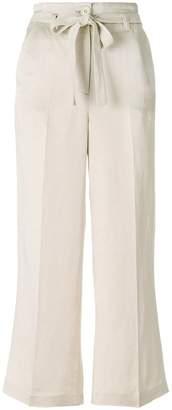 Twin-Set tie waist trousers