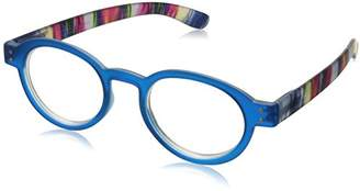Peepers Unisex-Adult Bright Eyed 406325 Round Reading Glasses