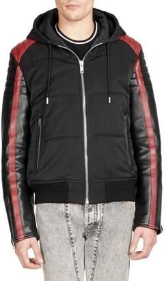 2140d665a Mixed Media Jacket Men - ShopStyle