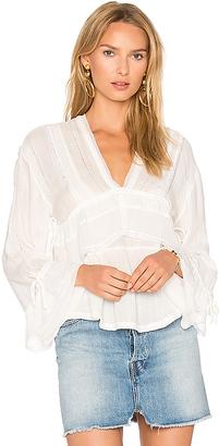 IRO Celena Top in White $310 thestylecure.com