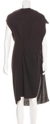 Roland Mouret Sleeveless Wool Dress