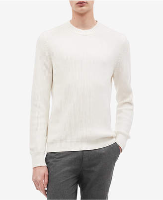 Calvin Klein Men's Ribbed Crew Neck Sweater