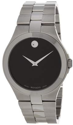 Movado Men's Round Bracelet Watch, 40mm