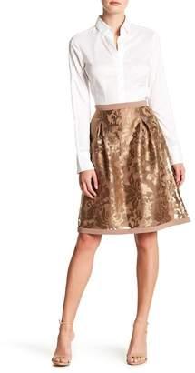 Basler Embroidered Overlay Skirt