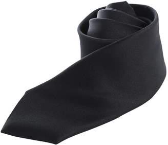 Karl Lagerfeld Black Polyester Ties