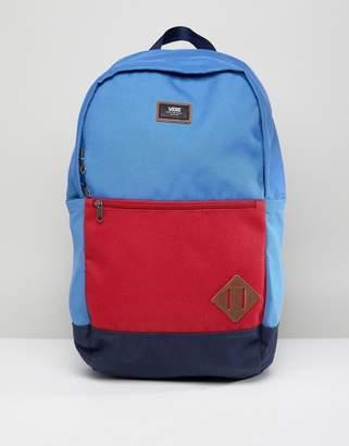 Vans Van Doren III Backpack In Blue