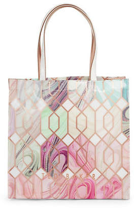 Ted Baker Large Printed Tote Bag