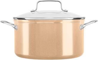KitchenAid 6-qt. Nonstick Low Casserole Pan with Lid