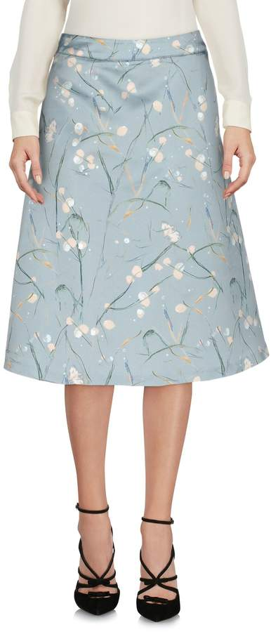 Roberta Scarpa Knee length skirts - Item 35341889