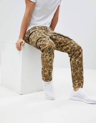 G Star G-Star Beraw Rovic 3d Tapered Cargo Camo Pants