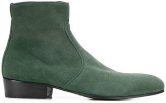 Bos. & Co. Leqarant suede ankle boots