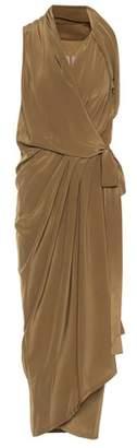 Rick Owens Limo sleeveless silk dress