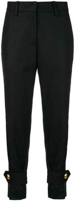Sacai high waisted tailored trousers
