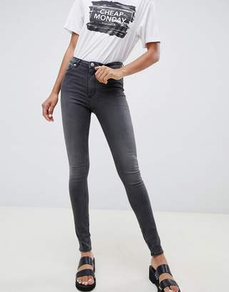 Cheap Monday High Snap Skinny Jeans