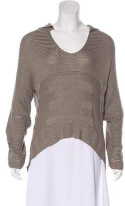 Kimberly Ovitz Scoop Neck Lightweight Sweater