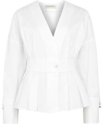 By Malene Birger Filonas White Cotton Shirt