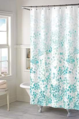 Kimberly CHF INDUSTRIES Floral Shower Curtain - Teal