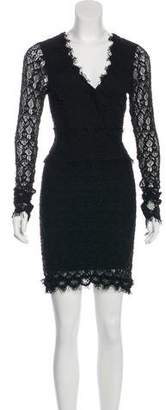 Nightcap Clothing Lace Mini Dress
