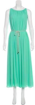 Saloni Sleeveless Maxi Dress