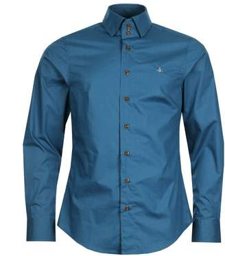 Vivienne Westwood 3 Button Shirt - Blue