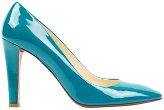 Miu Miu Turquoise Patent leather Heels