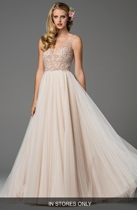 Women's Watters Ora Strapless Tulle Gown $3,350 thestylecure.com