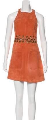 Chloé Suede Mini Dress