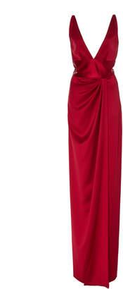Naeem Khan Maxi Silk Gown