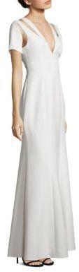 BCBGMAXAZRIA Estrella Cutout Gown