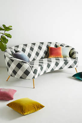 Anthropologie Buffalo Check Heatherly Sofa