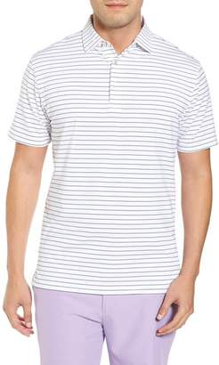 Peter Millar Halifax Pinstripe Stretch Jersey Polo