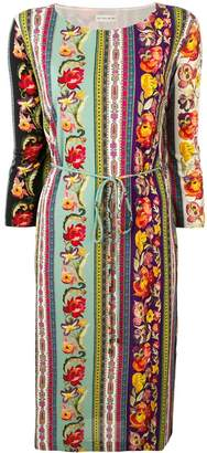 Etro floral print tunic dress