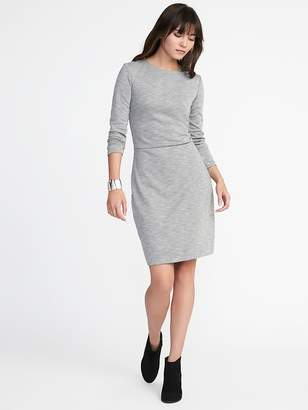 Old Navy Textured Double-Knit Sheath Dress for Women