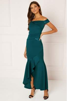 Fishtail Maxi Dress Shopstyle Uk